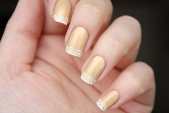 Lace Nail Art Designs