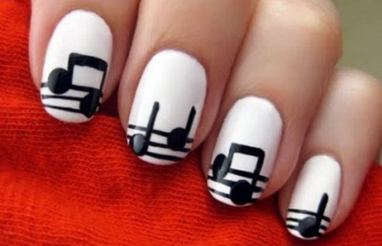40 Creative Music Nail Art Ideas Nail Design Ideaz