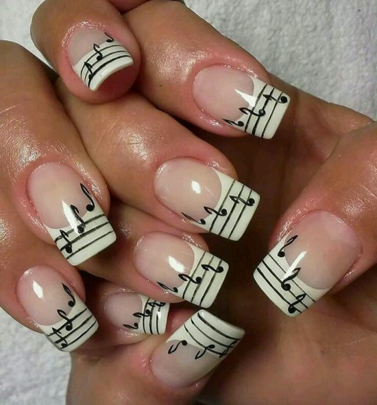 Music Nails Design | Best Nail Designs 2018