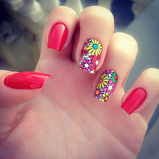Summer Nail Art - 50 Awesome Summer Nail Designs Nail Design Ideaz