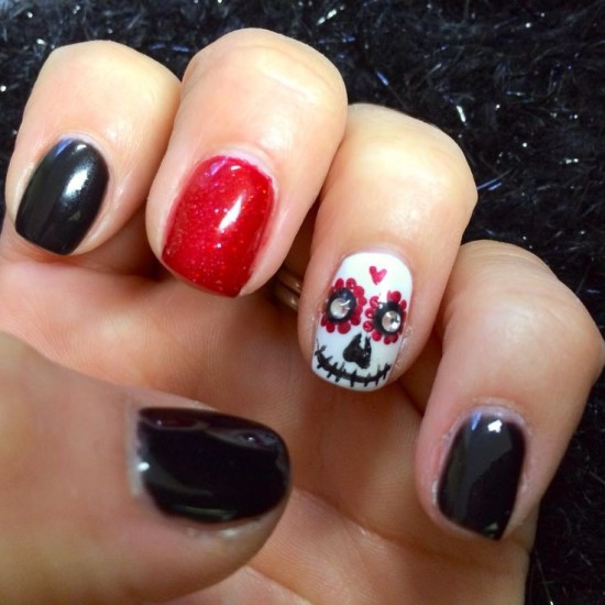 Skull Nail Art Ideas