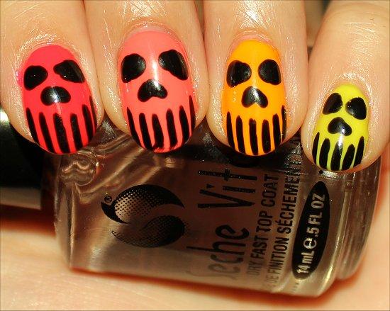 Sugar Skull Nails