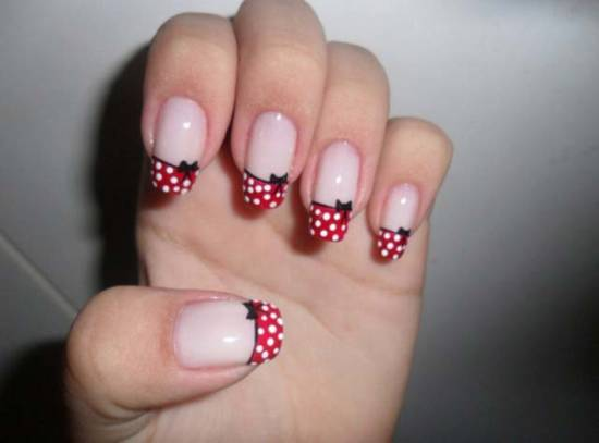 Bow Nail Tutorials