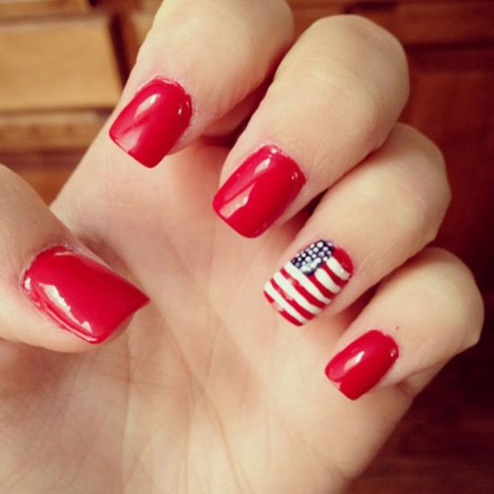 51 gorgeous 4th of july nails designs nail design ideaz 4th of july nail art ideas prinsesfo Choice Image
