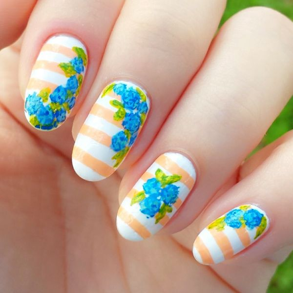 Cool Nail Art: 21 Creative Spring Nail Art Tutorials