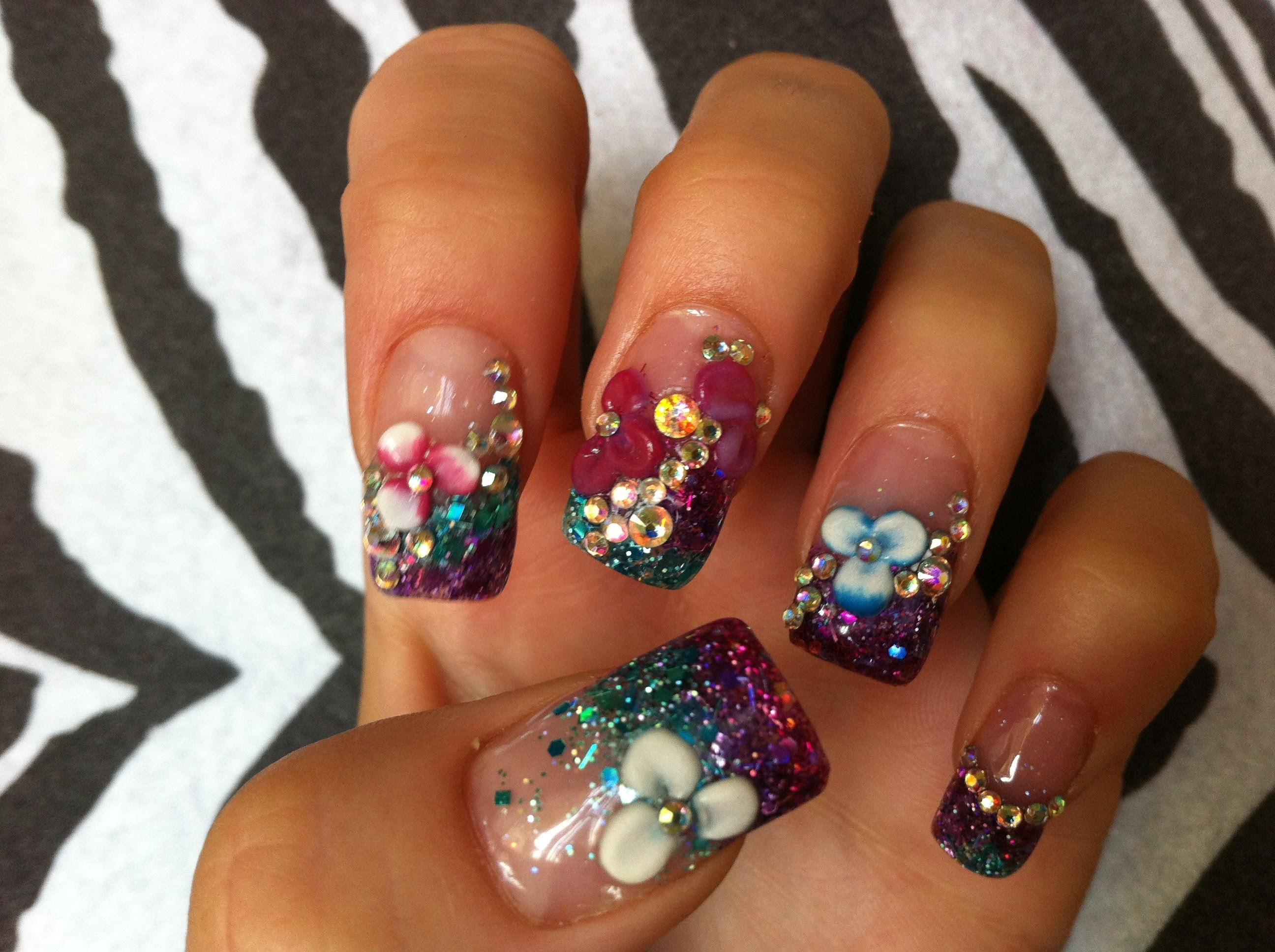 20 3D Nail Art Tutorials For Summer | Nail Design Ideaz
