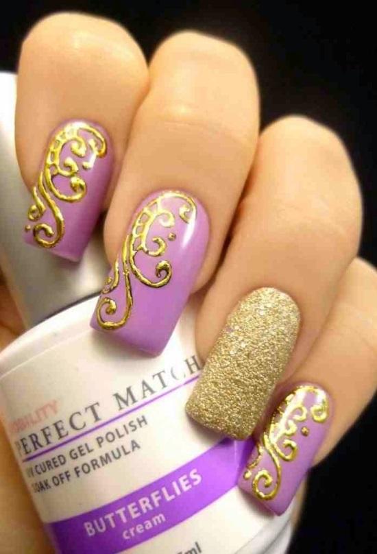 50 adorable spring nail art designs nail design ideaz spring nail art ideas prinsesfo Gallery