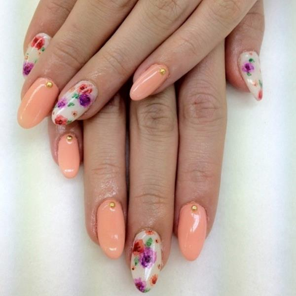 21 Creative Spring Nail Art Tutorials Nail Design Ideaz