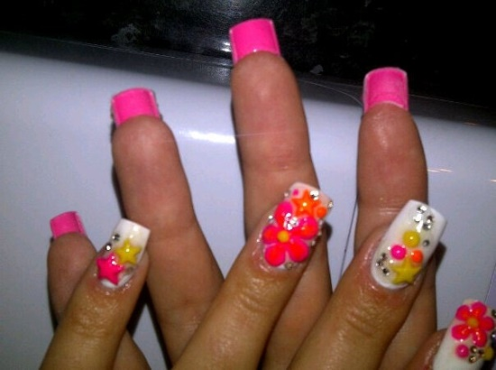 50 Creative 3d Nail Art Designs For Summer Nail Design Ideaz