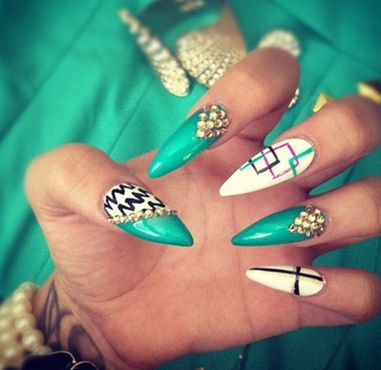 3D Nail Art - 50 Creative 3D Nail Art Designs For Summer Nail Design Ideaz