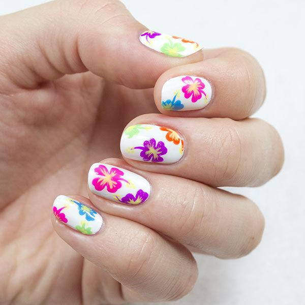 Tropical Nail Art - 18 Tropical Nail Art Tutorials For Summer Nail Design Ideaz