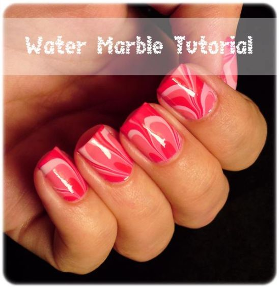 20 Gorgeous Marble Nail Art Tutorials | Nail Design Ideaz