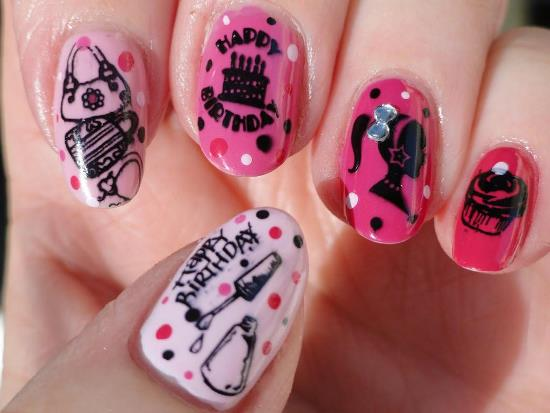 birthday nail art ideas - Ideas For Nails Design