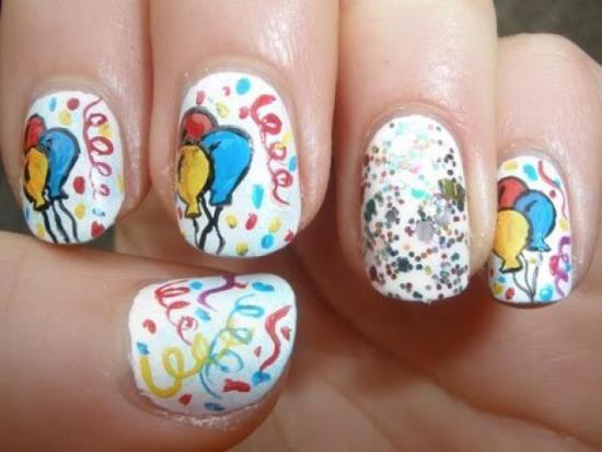 Birthday Nail Art Ideas