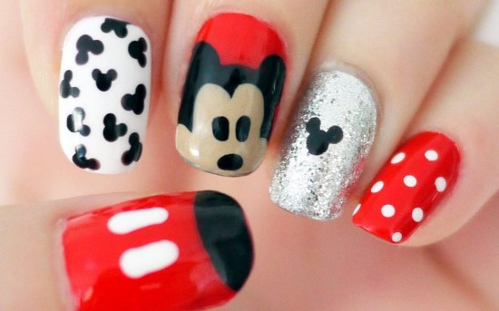Cartoon Nail Art