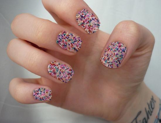 Caviar Nail Art Designs