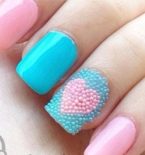 Caviar Nail Art Ideas