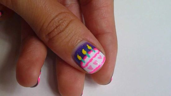 Birthday Nail Designs