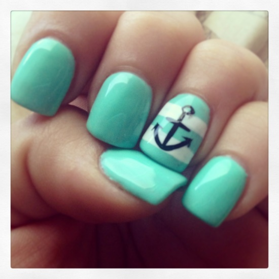 Mint Nail Art Ideas