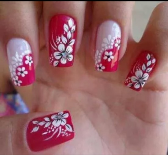 50 Tropical Nail Art Designs For Summer Nail Design Ideaz