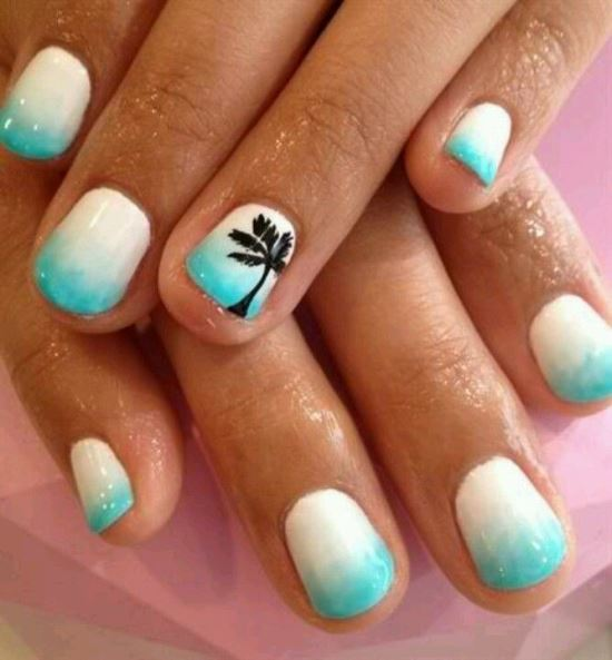Hot Designs Nail Art Ideas nail design ideas for toes Tropical Nail Art Ideas