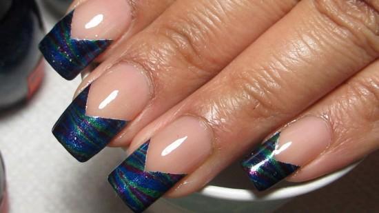Simple Chevron Nails