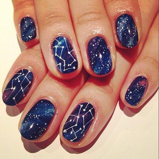 45 gorgeous galaxy nail art designs nail design ideaz nail art designs solutioingenieria Images