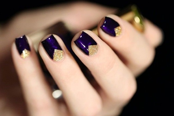 51 Stunning Half Moon Nail Art Designs Nail Design Ideaz