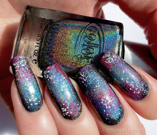 Mesmerizing Galaxy Nail Art