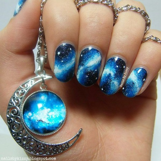 18 Awesome Galaxy Nail Art Tutorials