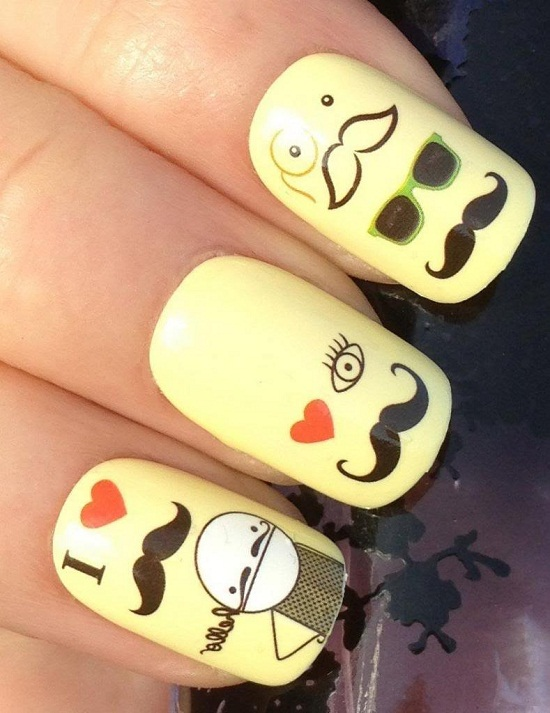 Naughty Mustache Collection
