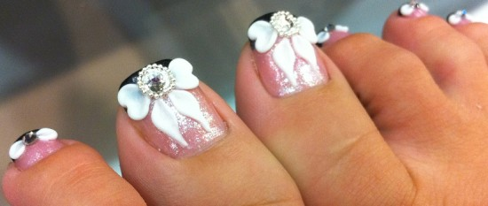The Pink Toe Nails