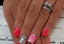 Chevron Nail Art Designs
