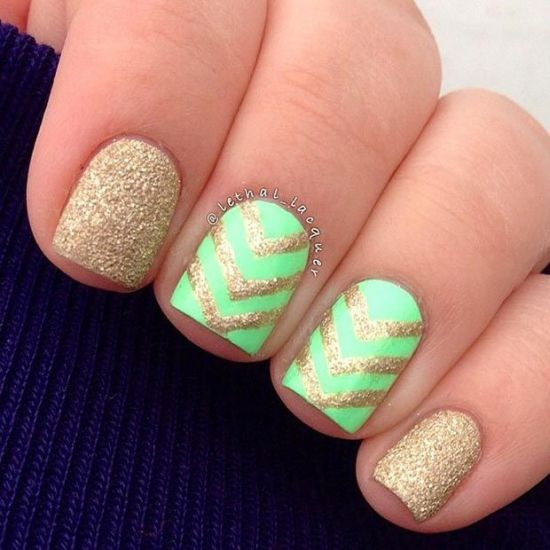 Chevron Nail Designs