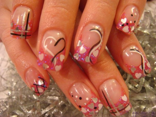 Acrylic Nails Designs - 45 Gorgeous Valentines Day Acrylic Nail Designs
