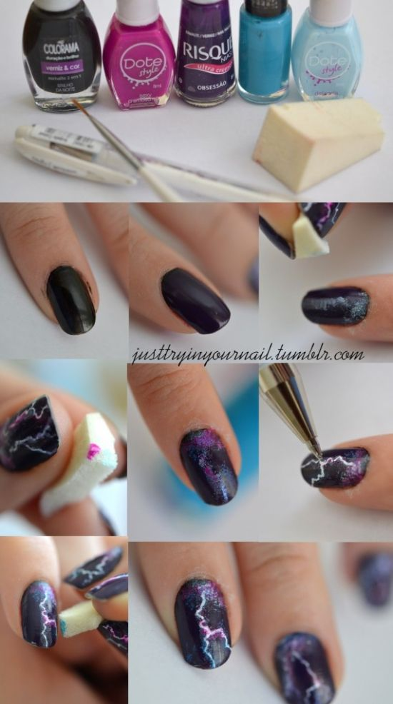 20 easy winter nail art tutorials nail design ideaz winter nail art designs prinsesfo Gallery