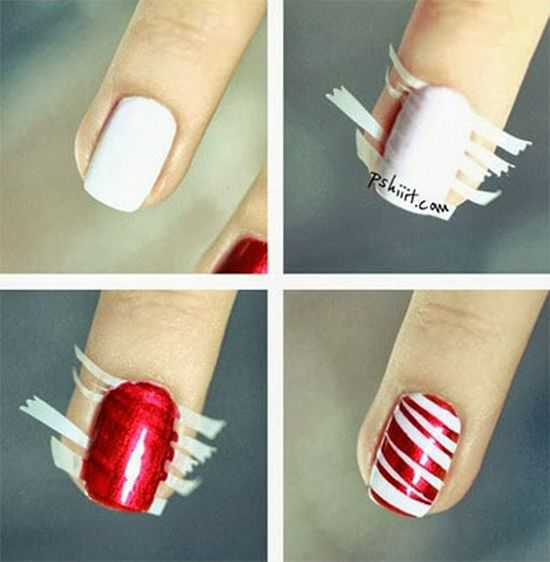 20 Easy Winter Nail Art Tutorials | Nail Design Ideaz