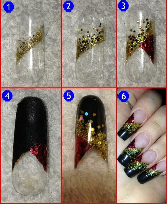 Acrylic Nail Art Designs Tutorials Hession Hairdressing