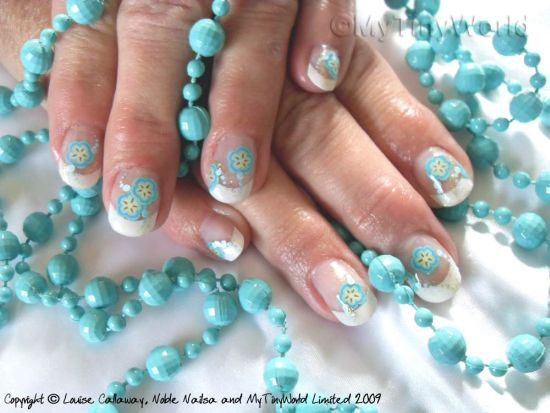 20 best acrylic nails tutorials nail design ideaz acrylic nail art prinsesfo Image collections