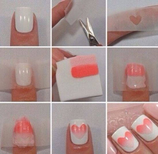 Valentines Nail Art Designs
