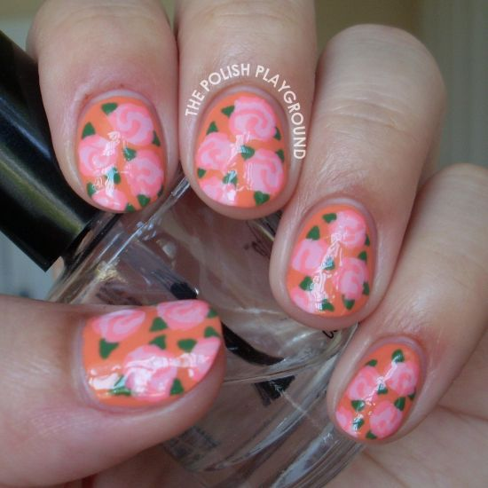 Floral Nail Art