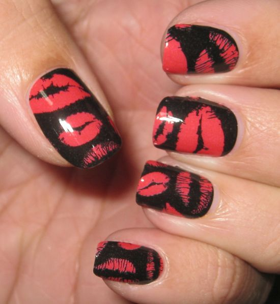51 Cute Valentine Day Nail Art Designs | Nail Design Ideaz