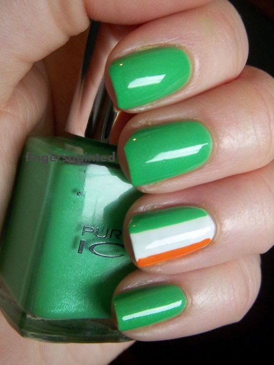 31 Glam St.Patrick\'s Day Nail Designs | Nail Design Ideaz