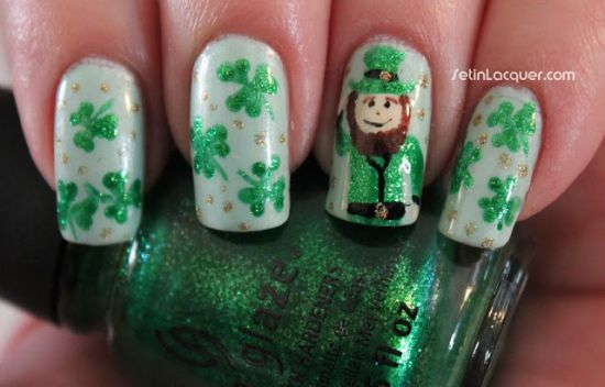 Irish Nail Art