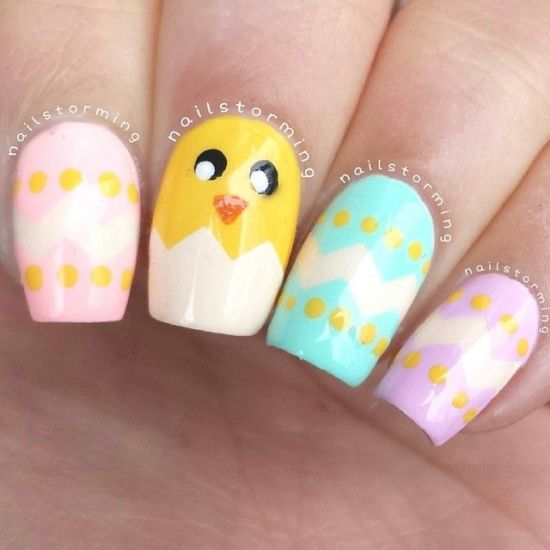 39 Rocking Easter Nail Art Designs Nail Design Ideaz