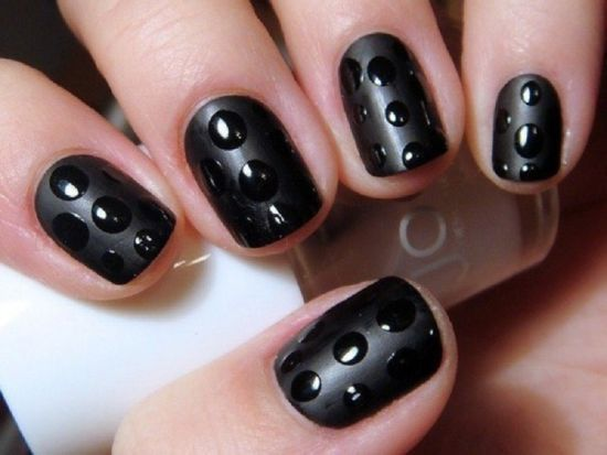 18 Cute Matte Nail Art Tutorials Nail Design Ideaz