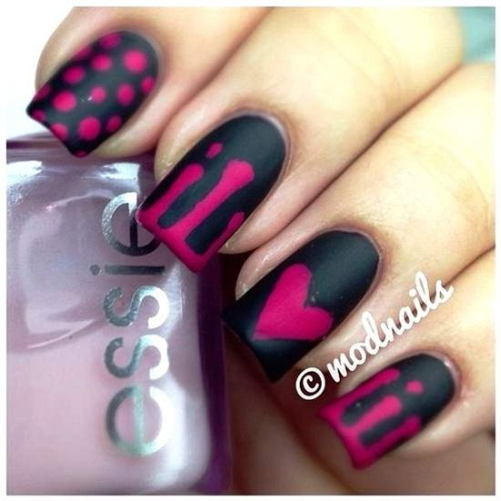 18 cute matte nail art tutorials nail design ideaz nail art tutorials prinsesfo Image collections