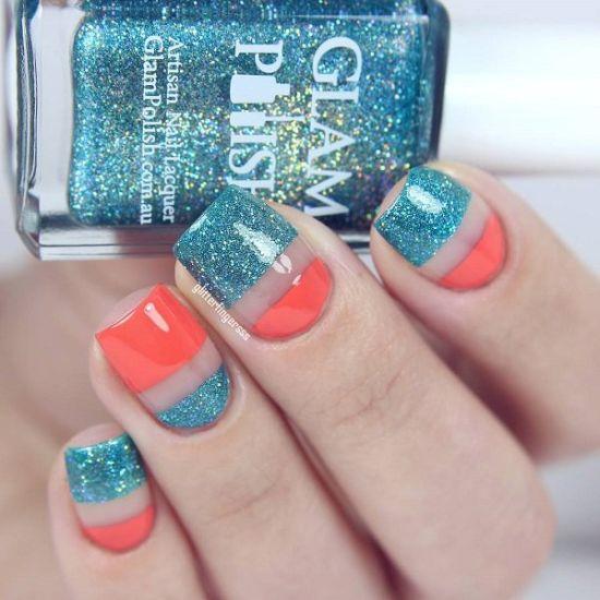 33 trendy glitter nail art design ideas to rock 2016