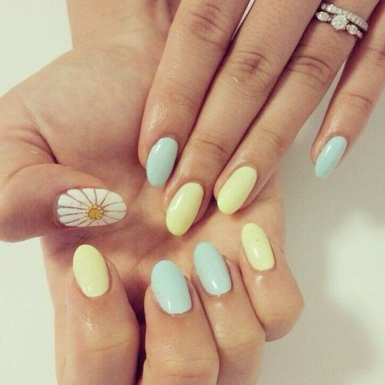 39 Stylish Pastel Nail Designs For 2016