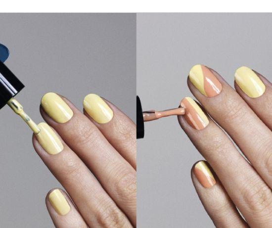 Pastel Yellow Nail Polish